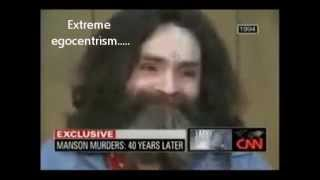 Antisocial Personality Disorder: Charles Manson