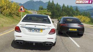Forza Horizon 4 - Mercedes-AMG E63S AMG BRABUS 800 | Goliath Race Gameplay