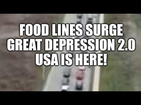 GREAT DEPRESSION 2.0 FOOD LINES BEGIN, DEBT NATION, FINANCIAL CRISIS NOW, ECONOMIC COLLAPSE 2020