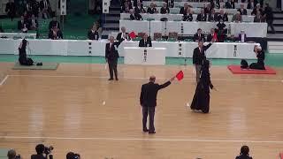 65th All Japan Kendo Championship 38   Round 2, Maeda vs Ichikawa