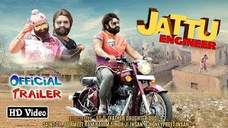 Jattu Engineer  Official Trailer  Saint Dr Gurmeet Ram Rahim Singh Ji Insan