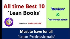 All time 'Best 10 Lean Books'–Video from 'Quality HUB India'