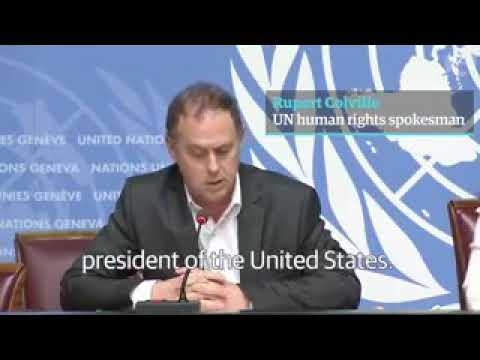 UN human rights spokesperson called Mr. Donald Trump racist | Donald Trump