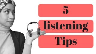 English Listening Tips - Five Easy Tips
