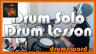 ★ Painkiller (Judas Priest) ★ Drum Lesson | How To Play Drum SOLO (Drummer
