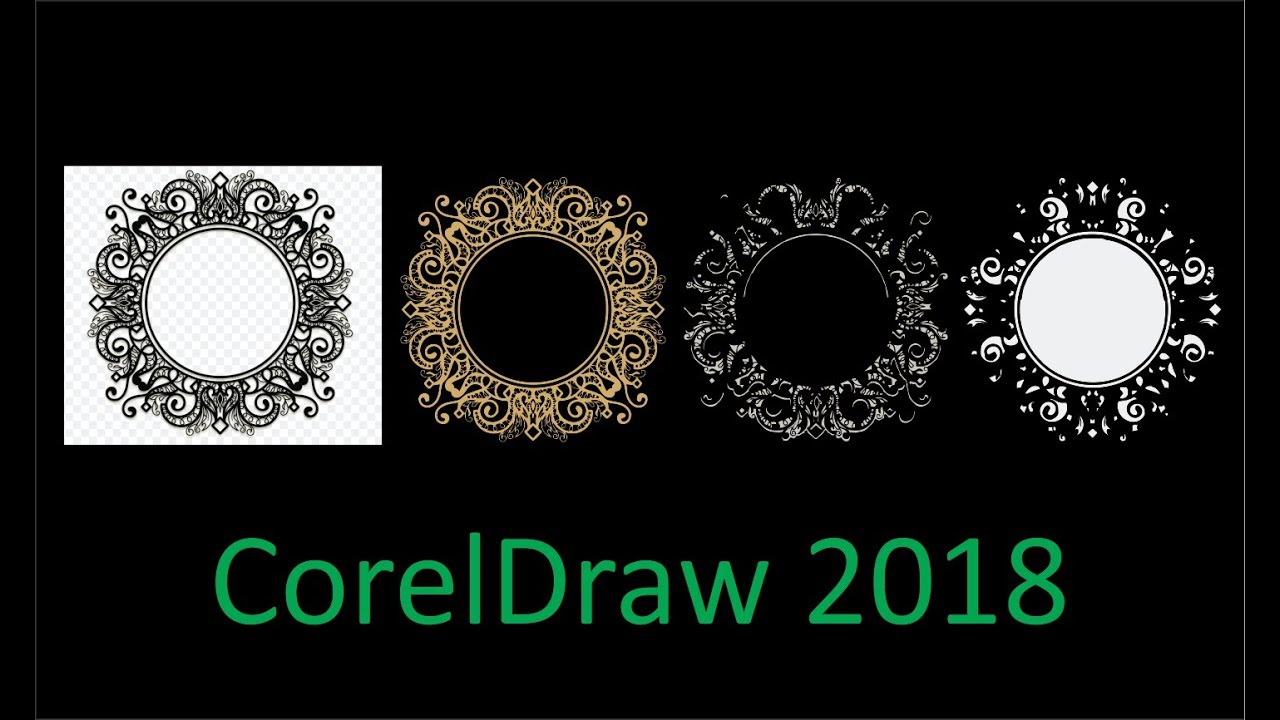 Delete and Change Color 1000 object in a few second Corel Draw 2018  tutorial by, Amjad GD
