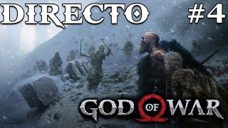God of War - Directo 4# Español - Desafio - El Cincel Mágico - La Sabiduría de Mimir - Ps4 Pro