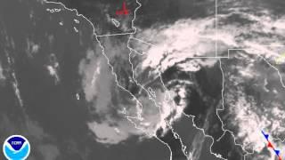 Animación segunda tormenta invernal hasta las 9 pm del 8 ene 2015