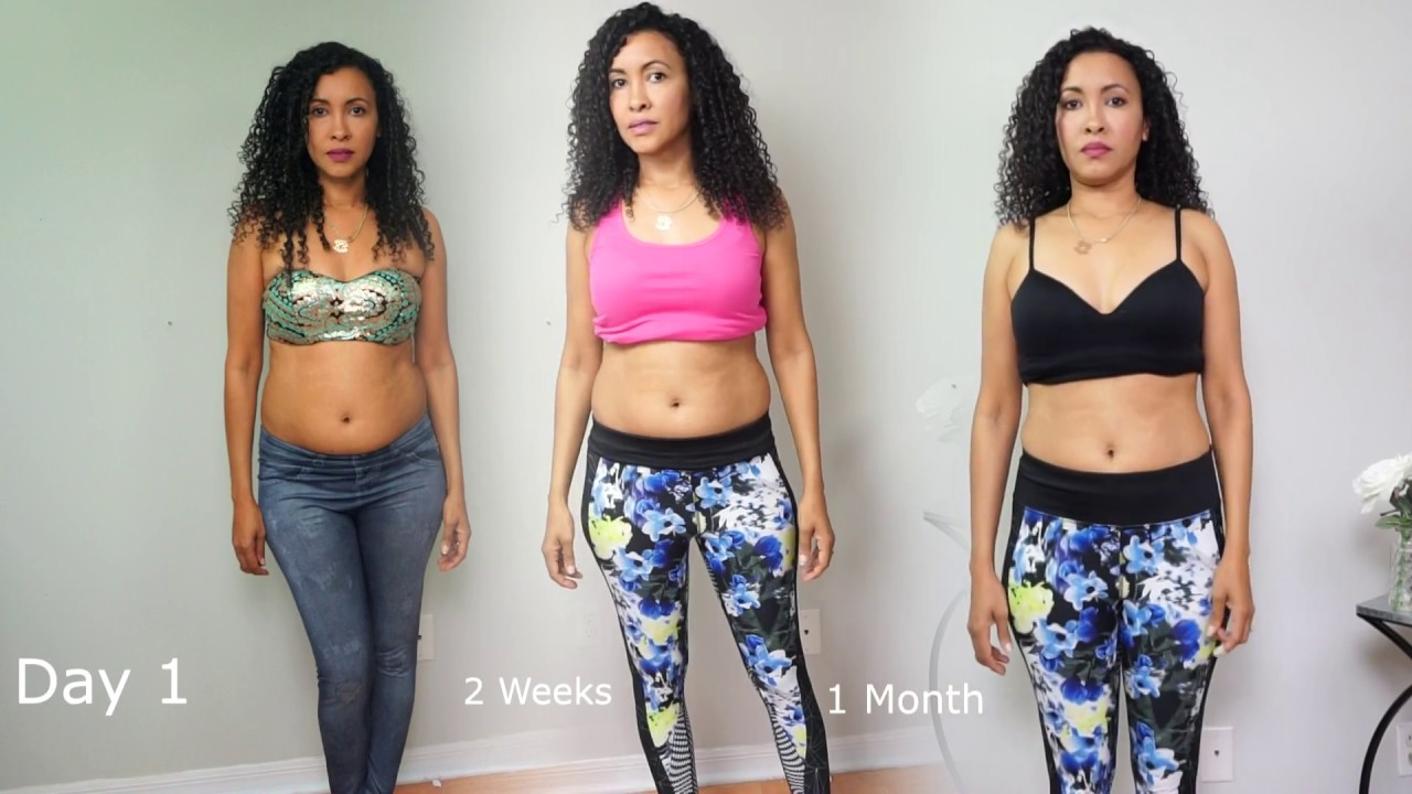 0e1486b4e81 How to lose belly fat in 4 weeks. Diva s Curves Waist trainer routine and  workout - YouTube