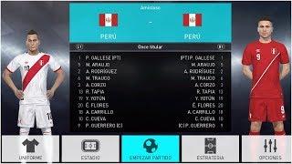 PES 2018 | SELECCIONES DE AMERICA - OPTION FILE (CONMEBOL Y CONCACAF) PERU, MEXICO, CHILE | Cafita96