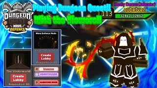 Let's play ROBLOX: Dungeon Quest! NEW UPDATE! Giveaway announcement! UW NM Runs! #1KCreator!