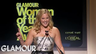 Amy Schumer Remembers Joan Rivers – Glamour 2014 Women of the Year Awards