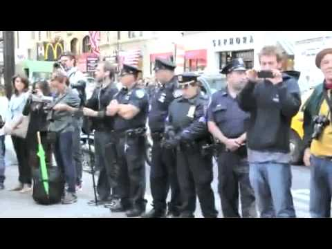 Live from Occupy Wall Street: Talking With a National Lawyer's Guild Legal Observer