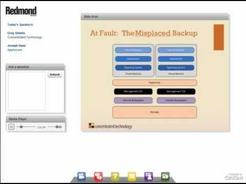Best Practices in Server backup and Migrations: P2V, V2P, P2C, and V2C