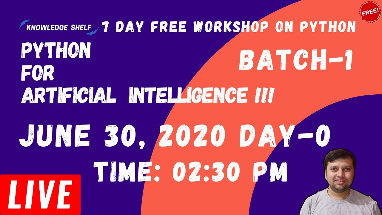 Live Batch-1 Class 0# Python for Artificial Intelligence - Announcement [In Hindi]