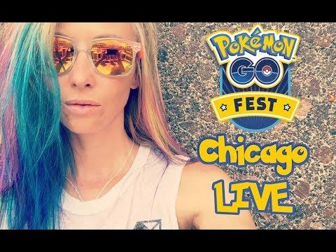 Pokémon GO GRANT PARK Chicago LiveStream