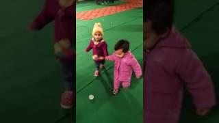 Danger dance 😊 Baby ko base pasand hai little baby cute