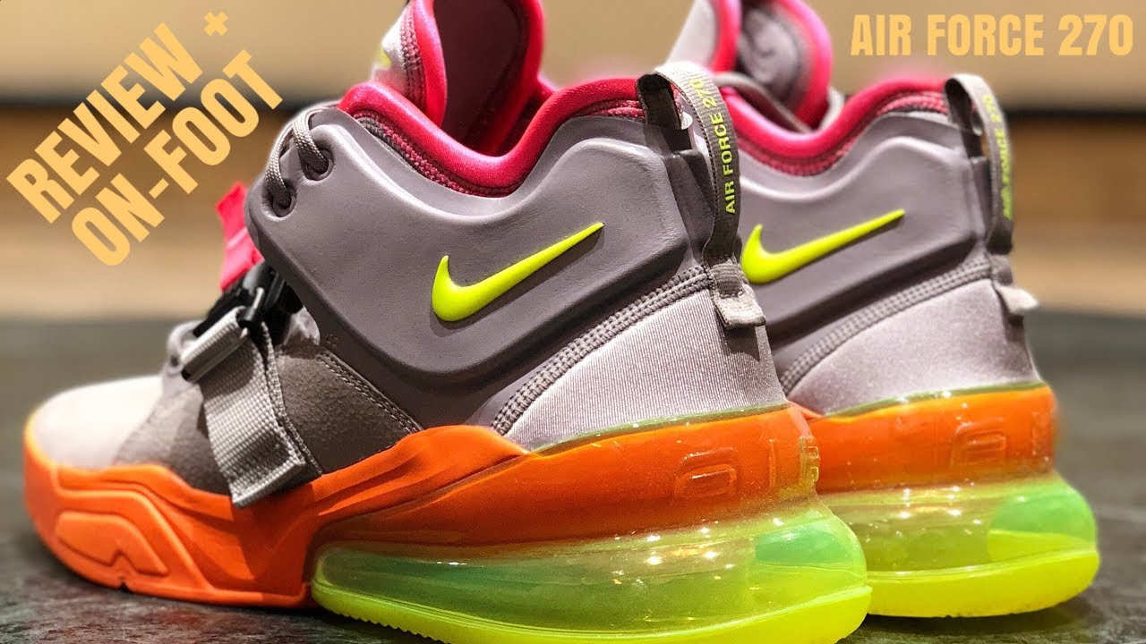 NIKE IS TAKING OVER!!!(NIKE AIR MAX 270)REVIEW AND ON-FOOT!!!WATCH BEFORE  YOU BUY!!!