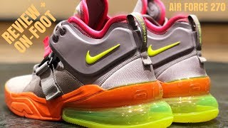 NIKE AIR MAX 270)REVIEW AND ON-FOOT