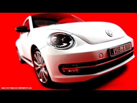 Welly Model Car 1:18 - Volkswagen Beetle 2012