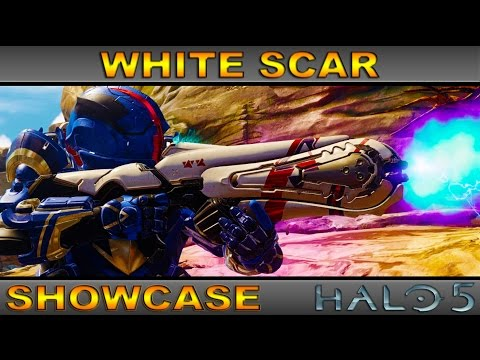 White Scar - Ultra Rare Weapon Showcase - Halo 5 Guardians