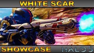 White Scar - Ultra Rare Weapon Showcase - Halo 5 Guardians