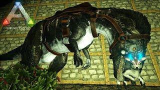 #12【ARK】この世界では常に覚醒!メガロサウルス変種をテイム!&厳選スピノサウルステイム!(前編)【Aberration(アベレーション)】【公式PVE】