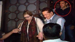 Salman Khan's Family At Aayush Sharma's Birthday Party