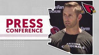 Kingsbury on Kyler's Development, David Johnson's Skillset | Arizona Cardinals