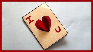 DIY Valentine Card | How to Make Gift Card | Handmade Cards Ideas