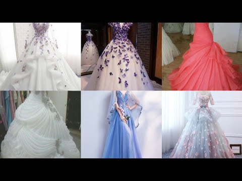 Partywear Gown For Women //bridal Net Gowns //evening Gown For Teenagers Girl