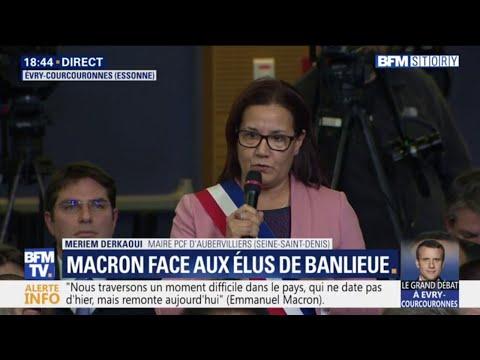 """Débat: """"Nous sommes des villes qui sont assoiffées d'égalité"""", affirme la maire d'Aubervilliers"""