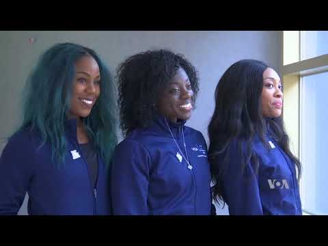 Nigerian Women's Bobsled Team Excited About Winter Olympic Debut