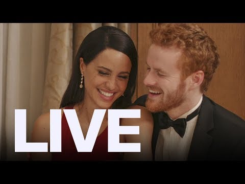 'Harry & Meghan: A Royal Romance' Stars Talk Pressure | ET Canada LIVE
