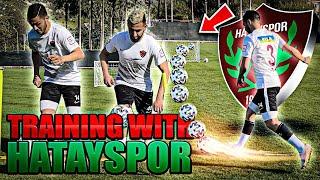 Training With Hatayspor Pro Team