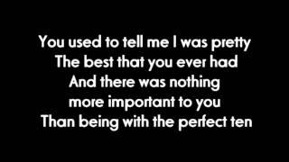 Nicole Scherzinger - Pretty Lyrics on Screen