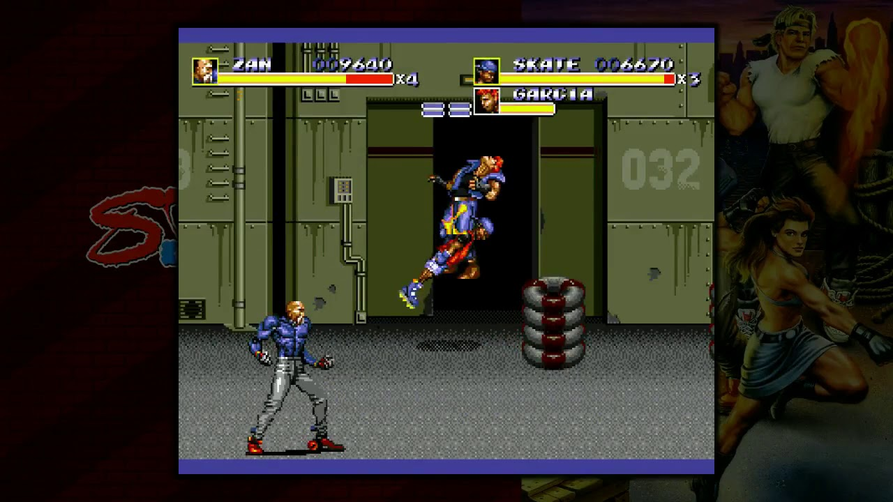 What I got for Free: Streets of Rage Collection (Streets of Rage III)