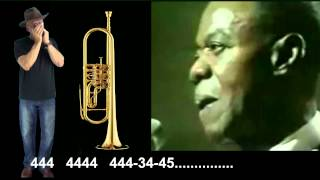 nº246 What A Wonderful World ( Louis Armstrong ) tablatura arm.diat.( C ) mundharmonika