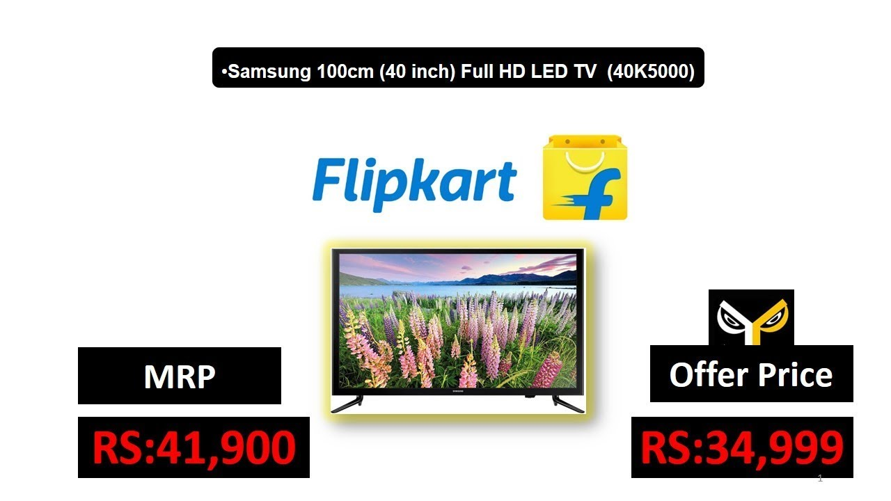 018b47a84 Samsung 100cm (40 inch) Full HD LED TV (40K5000) - YouTube