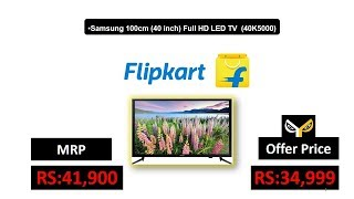 Samsung 100cm (40 inch) Full HD LED TV (40K5000)