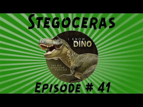 Stegoceras: I Know Dino Podcast Episode 41