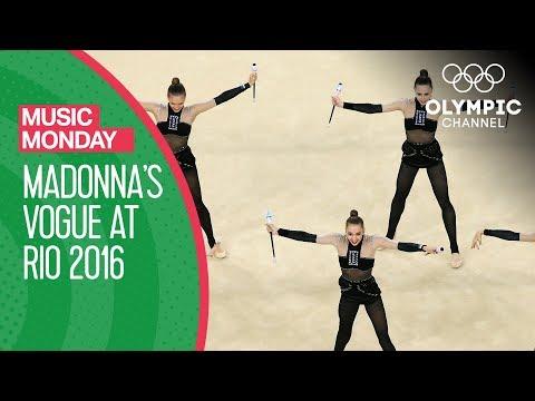 Download Youtube: Ukrainian Rhythmic Gymnastics to Madonna's Vogue | Music Monday
