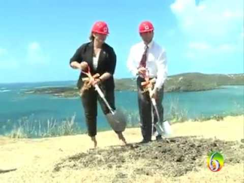 Aonther Major Project Launched  in Grenada
