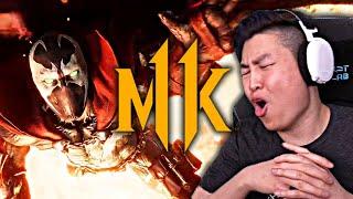 Mortal Kombat 11 - SPAWN Gameplay Trailer!! [REACTION]