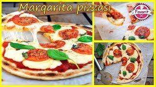 🔵 Marqarita pizzası hazırlanma qaydası | İtalyan üsulu ilə əsl pizza hazırlanması resepti |