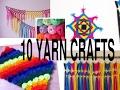 10 Awesome yarn crafts you can do/decorative yarn arts DIY