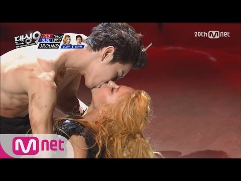 Dancing9S3 Kiss Performance Han Sunchun&Lee Jieun's powerful and sexy stage - Blue Eye EP07