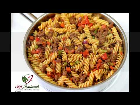 Easy Mince Meat (Ground Beef)  Pasta | Sisi Jemimah