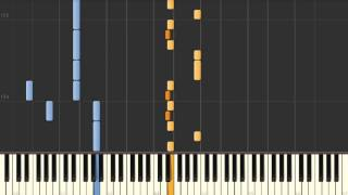 Song for Zula (Phosphorescent) - Synthesia piano tutorial