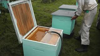 Механизировал раздачу зимнего корма в кормушки